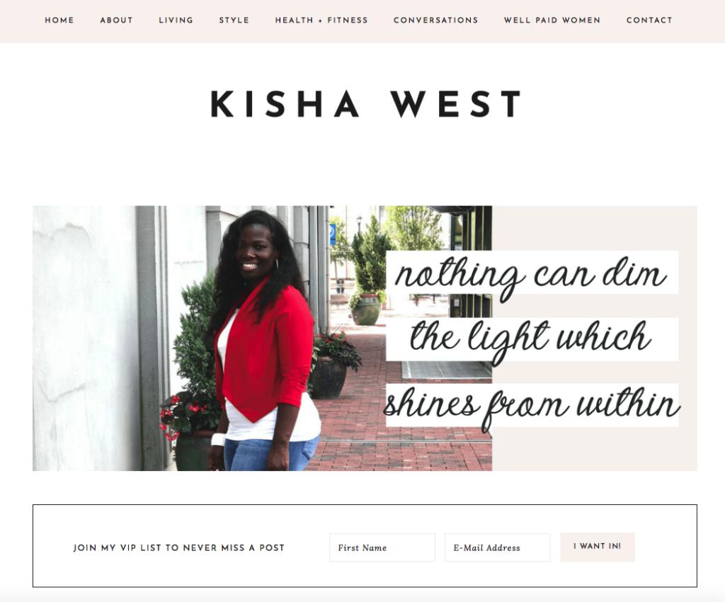 Kisha west
